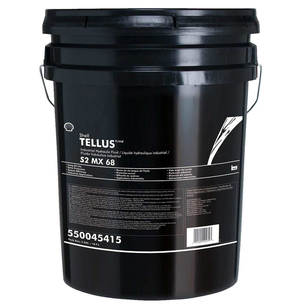 Shell Tellus S2 MX 68 - 18.9 L