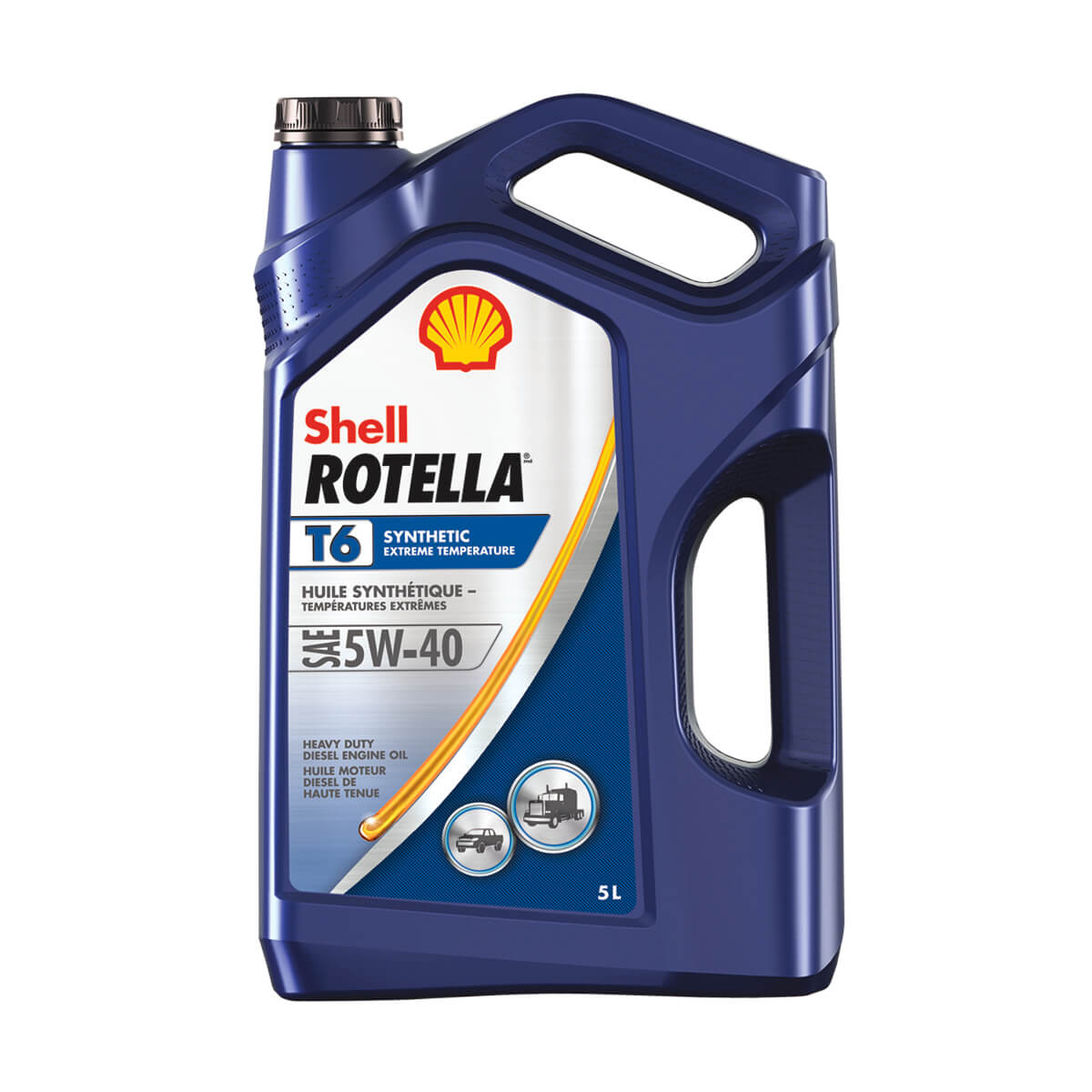 Shell Rotella T6 Triple Protection Synthetic 5W-40 - 5 L