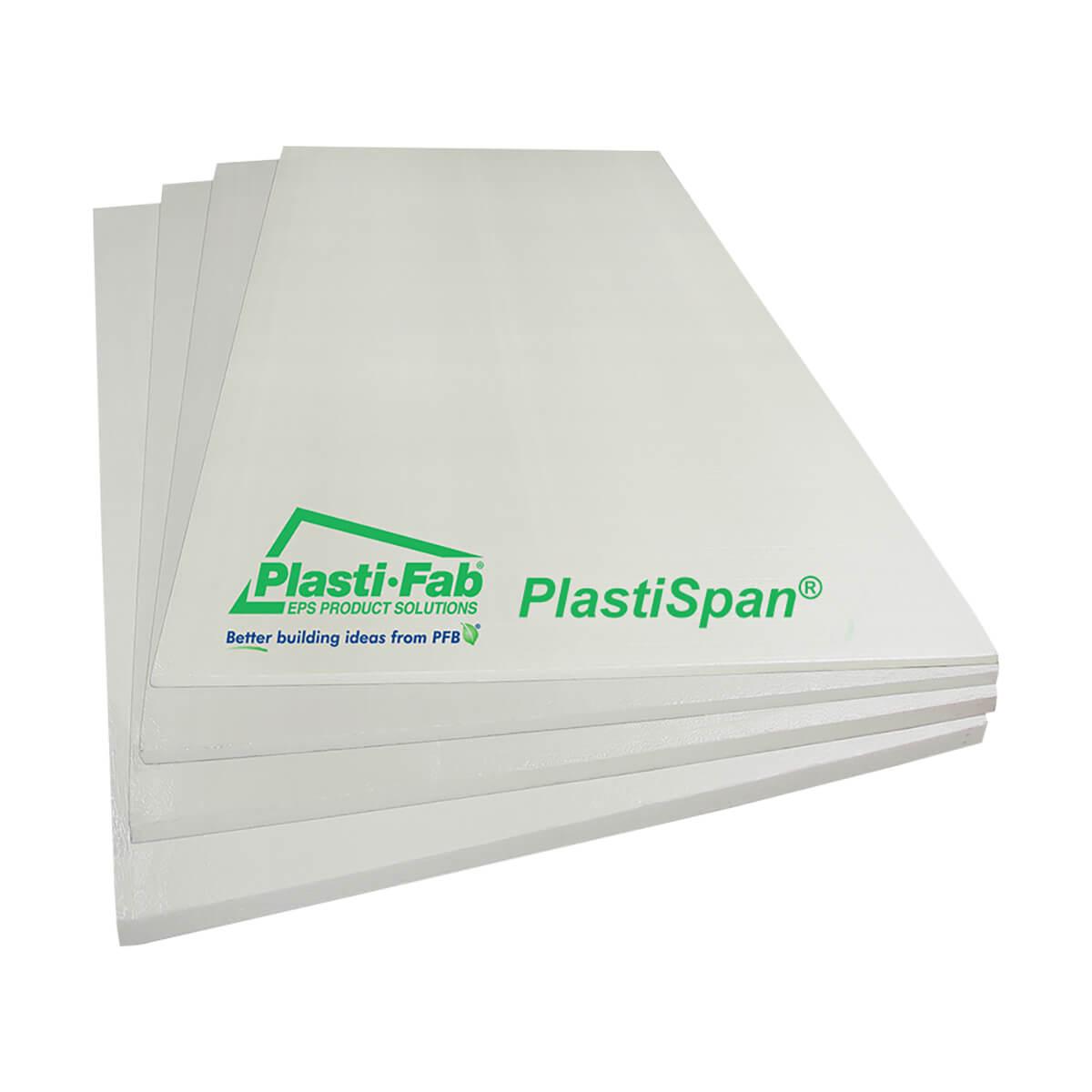 PlastiSpan Insulation - 5.38-in x 6-in x 8-ft