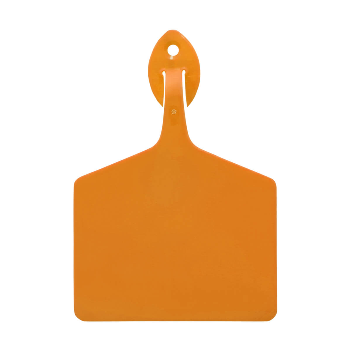 Allflex One-Piece Feedlot Tags - Light Orange