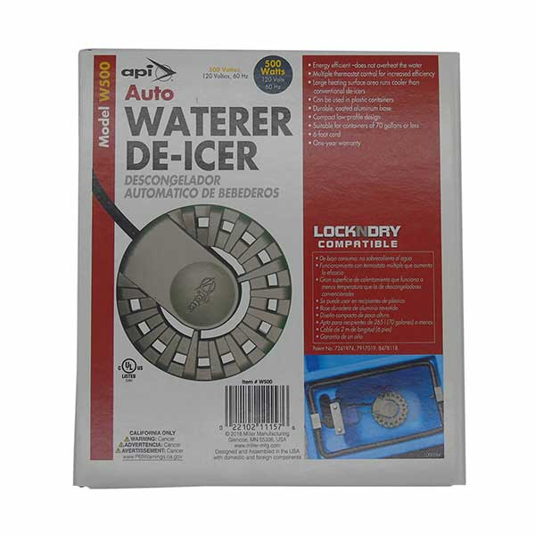 Auto Waterer De-Icer - 500W - 120V
