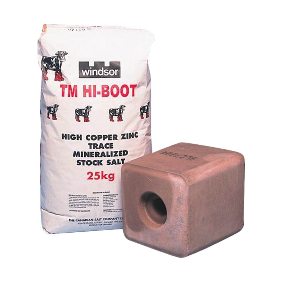 Trace Mineralized Hi-Boot Salt - Bag / 25kg
