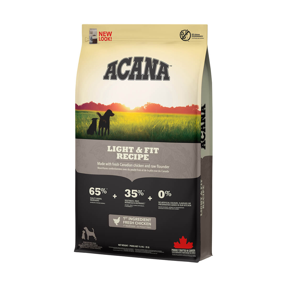 Acana Light and Fit Dog Food  - 11.4 kg