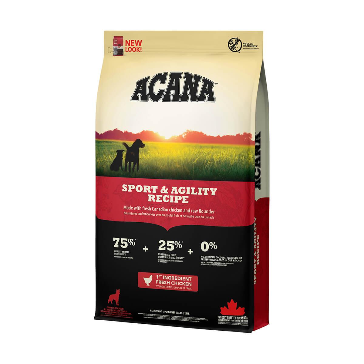 Acana Sport and Agility Dog Food - 11.4 kg