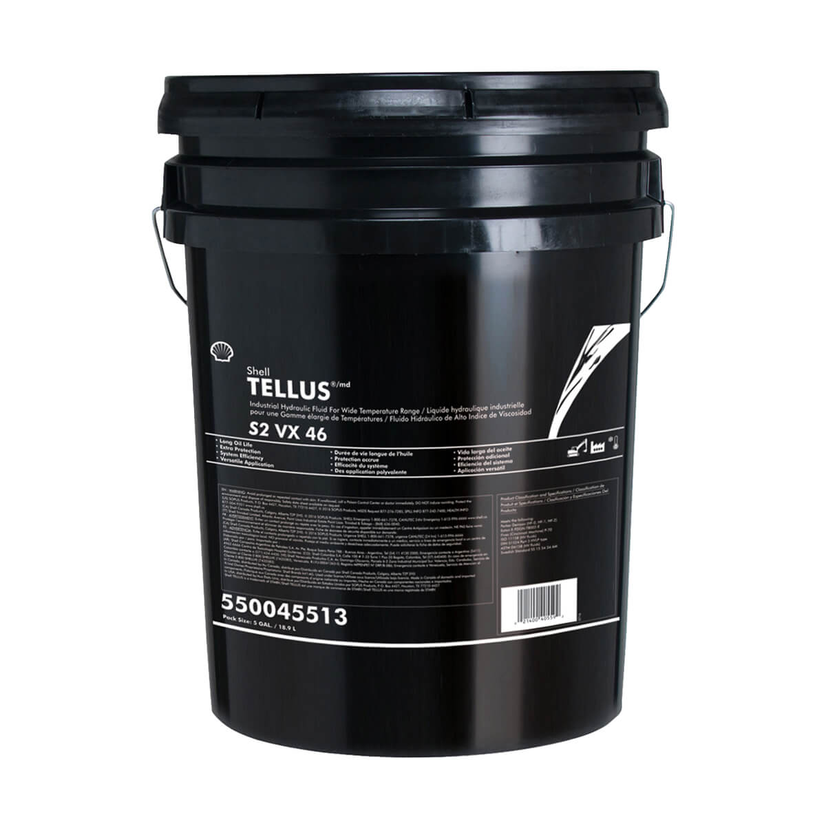 Shell Tellus S2 VX 46 - 18.9L