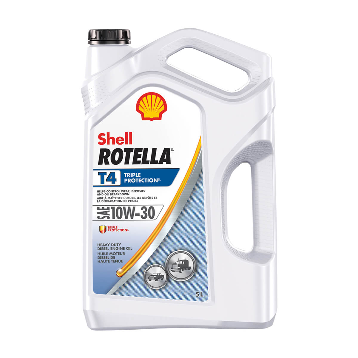 Shell Rotella T4 Triple Protection 10W-30 - 5 L