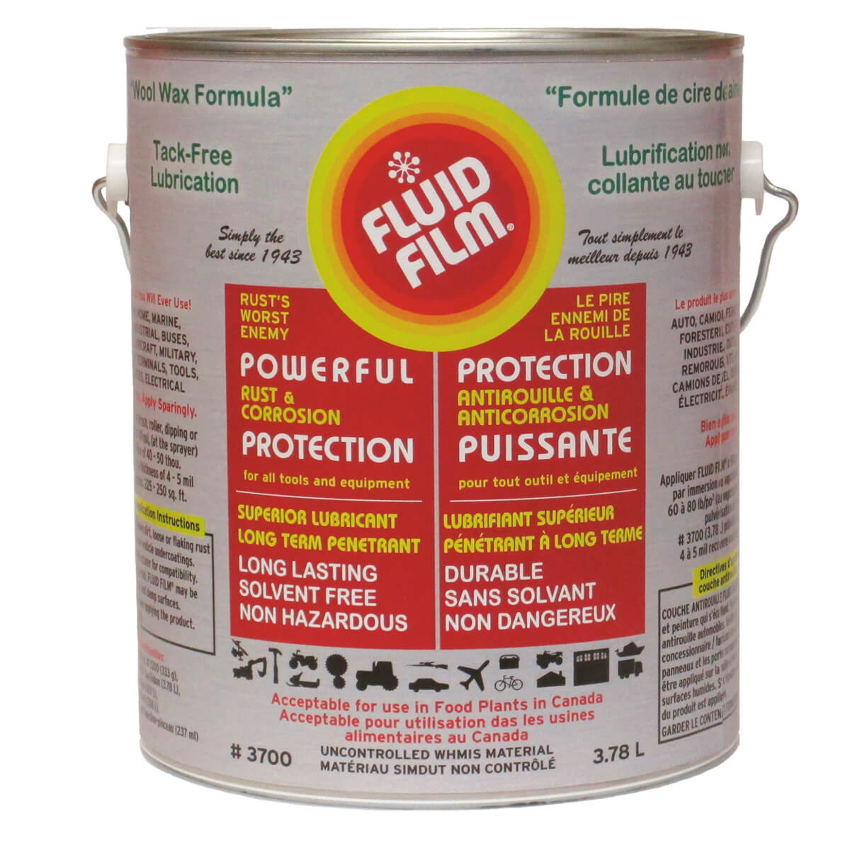 Fluid Film Rust and Corrosion Prevention - 3.78L