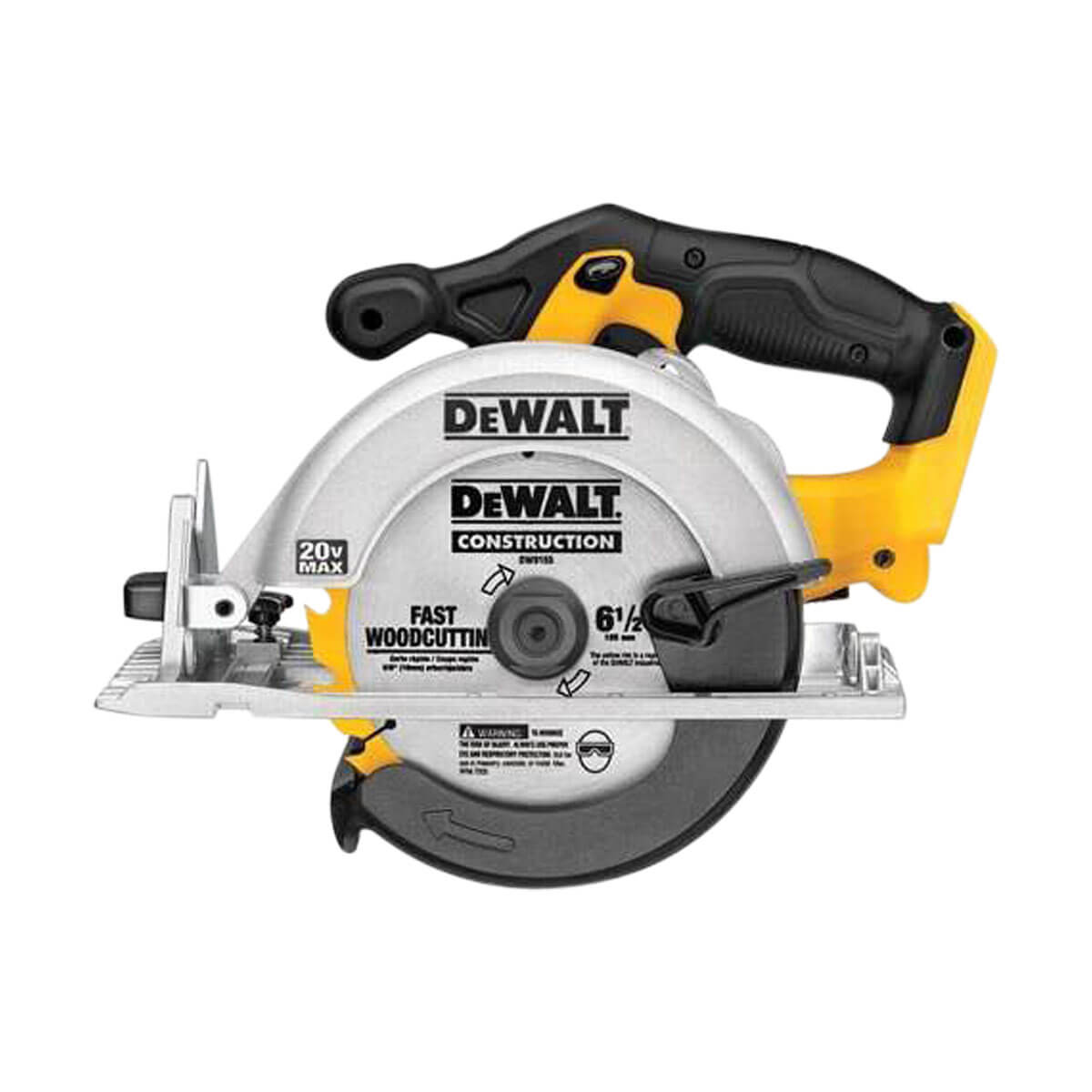 """DEWALT Circular Saw 6-1/2"""" 20V Max (Tool Only)  - DCS391B"""