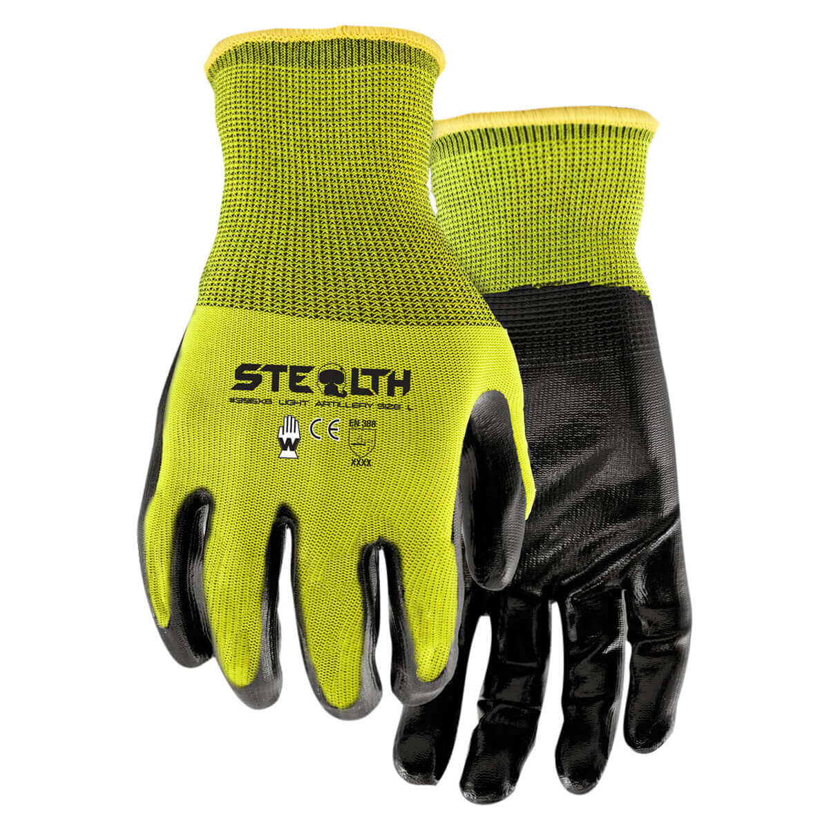 Stealth Light Artillery Gloves - 6 pack