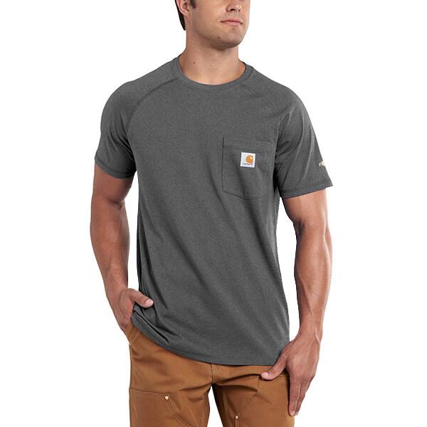 Men's Carhartt Force Cotton Short-Sleeved T-Shirt
