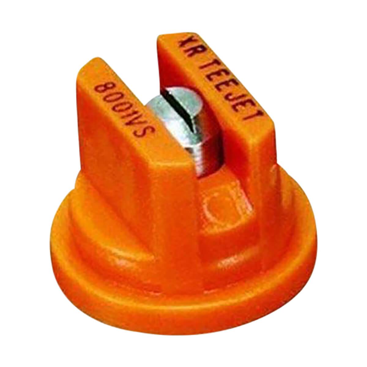 Teejet XR 80 Degree Extended Range Spray Tip - 4 pack, Orange