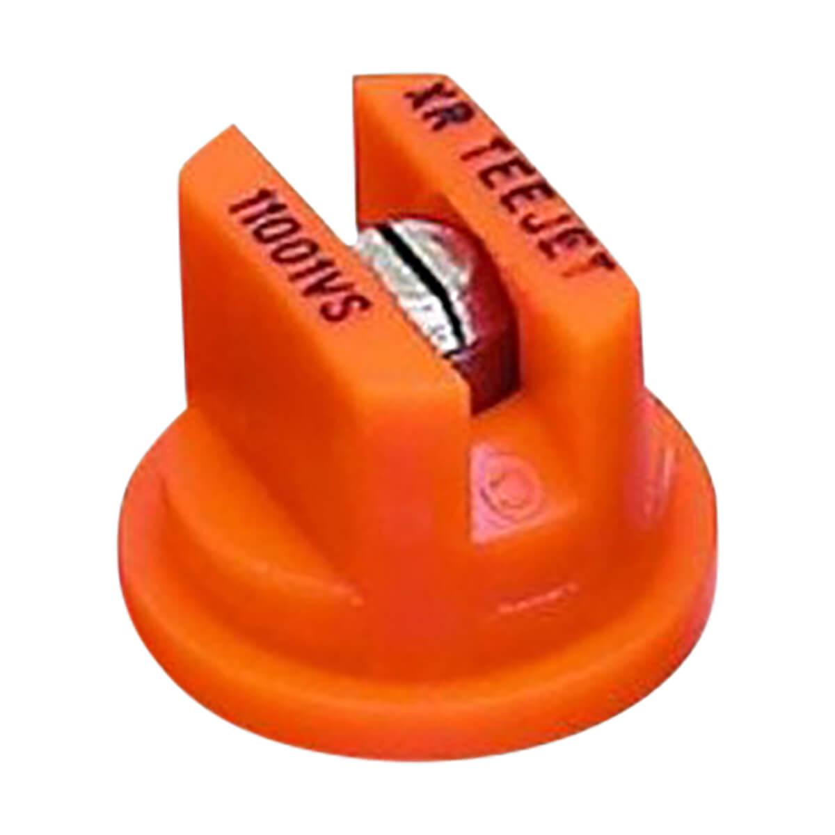Teejet XR 110 Degree Extended Range Spray Tip - 4 pack, Orange