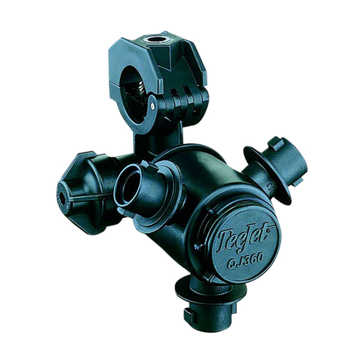 "Quick Teejet Nozzle Body for Wet Booms, 3 Nozzles - 1"""