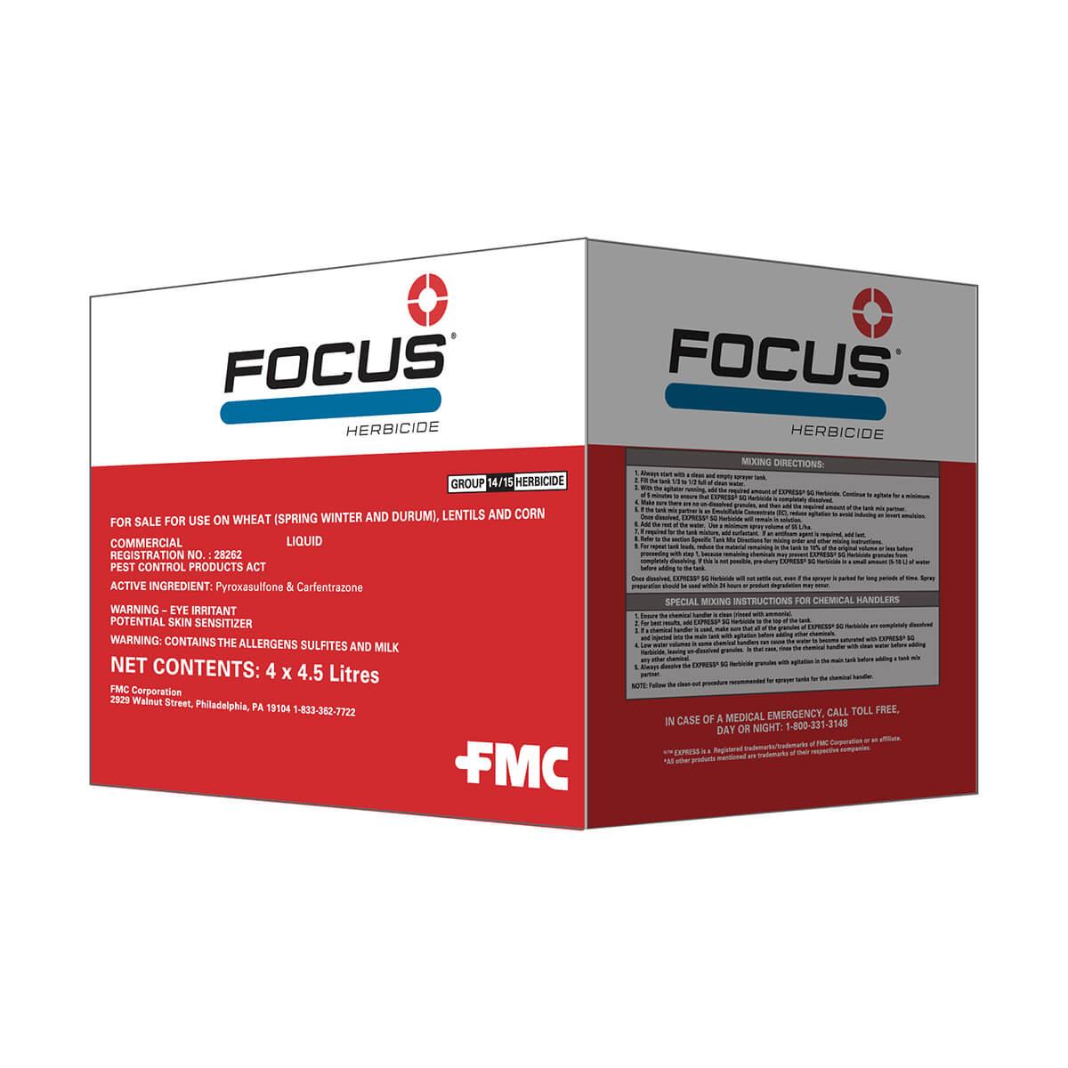 Focus® Herbicide - 4.5L Jug