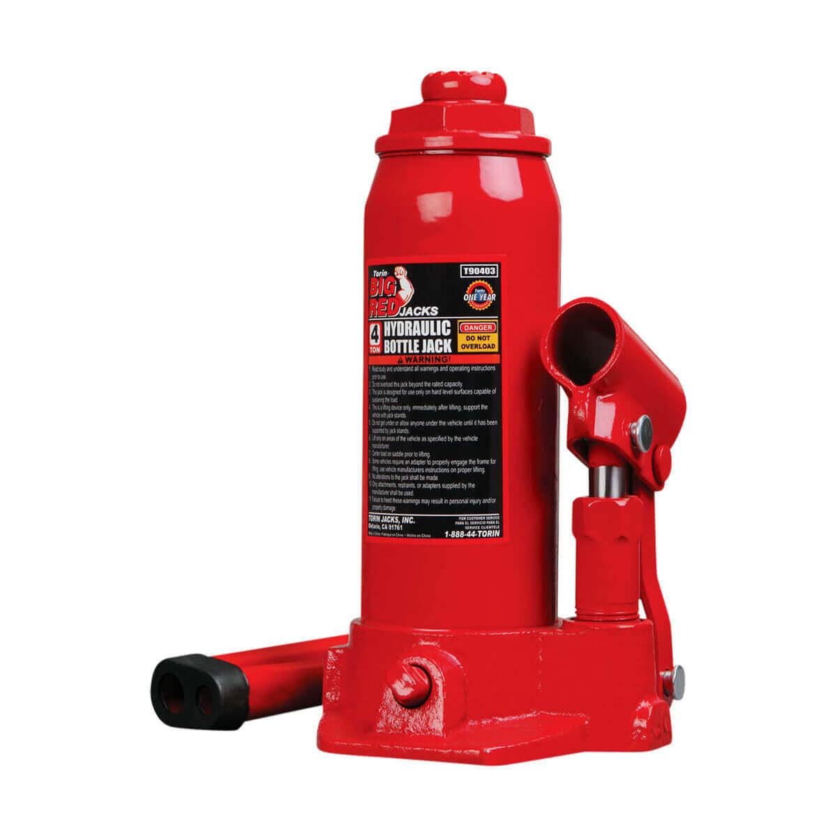 Hydraulic Bottle Jacks - 20 Ton