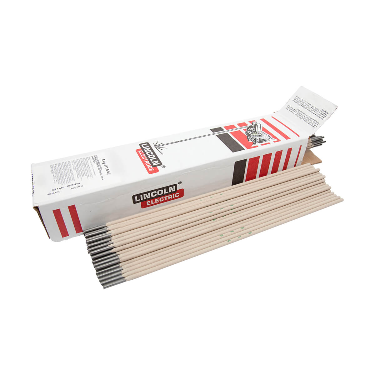 LINCOLN ELECTRIC Fleetweld 5P welding electrodes - 5/32-in x 14-in