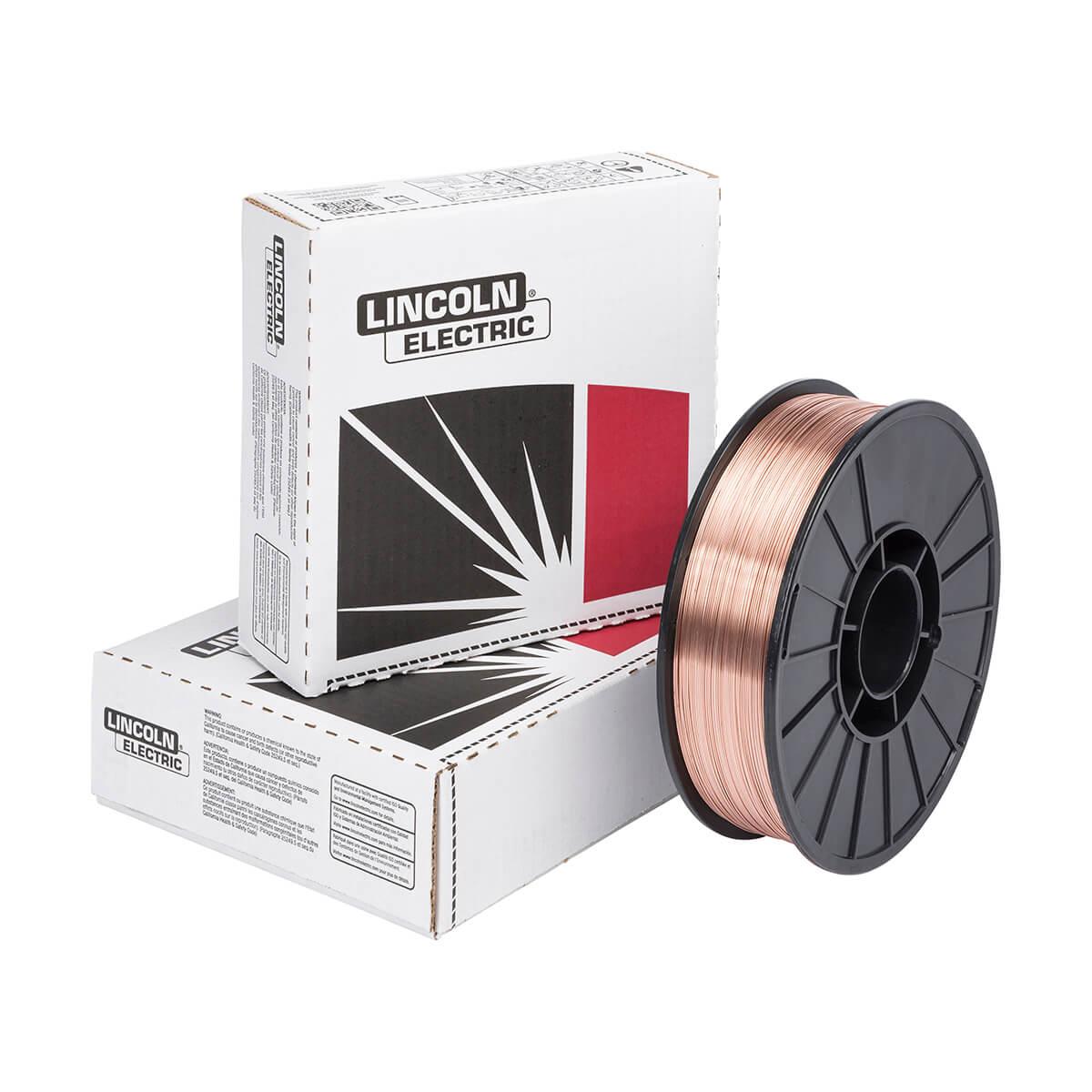 """Lincoln SuperArc L-56 0.30"""" MIG Wire (12.5 lbs.)"""