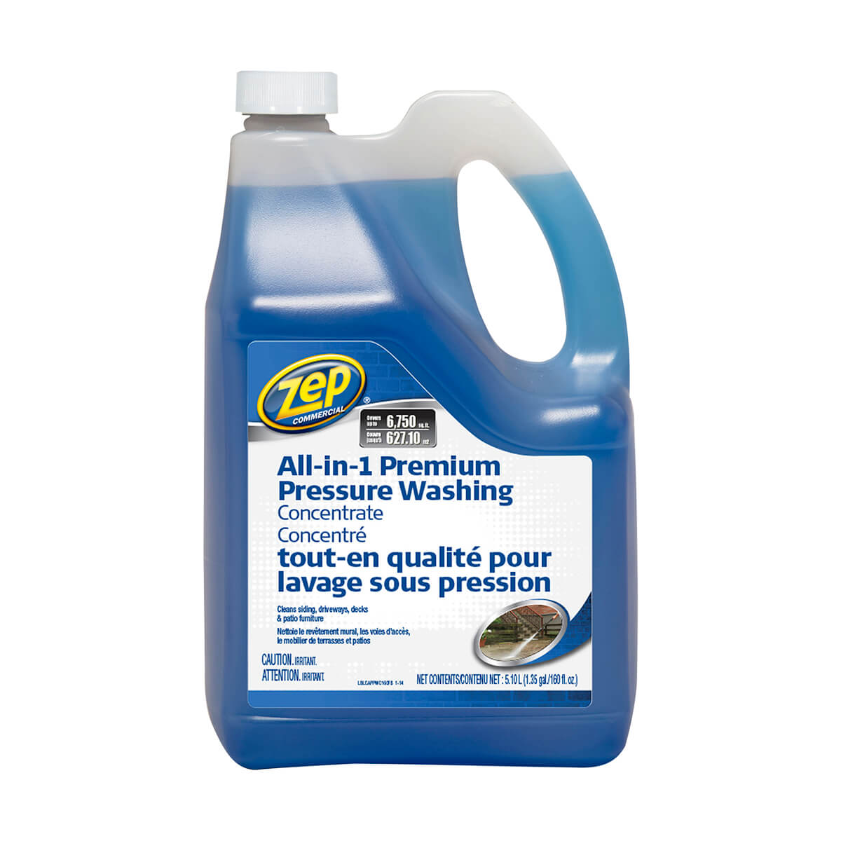Zep Commercial All-in-One Pressure Wash Concentrate 5.1 L  - CAPPWC160