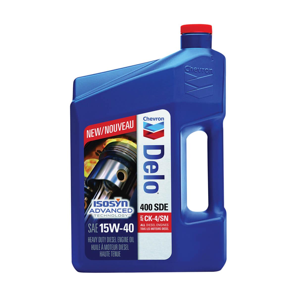 Chevron Delo 400 SDE 15W-40 - 3.78L