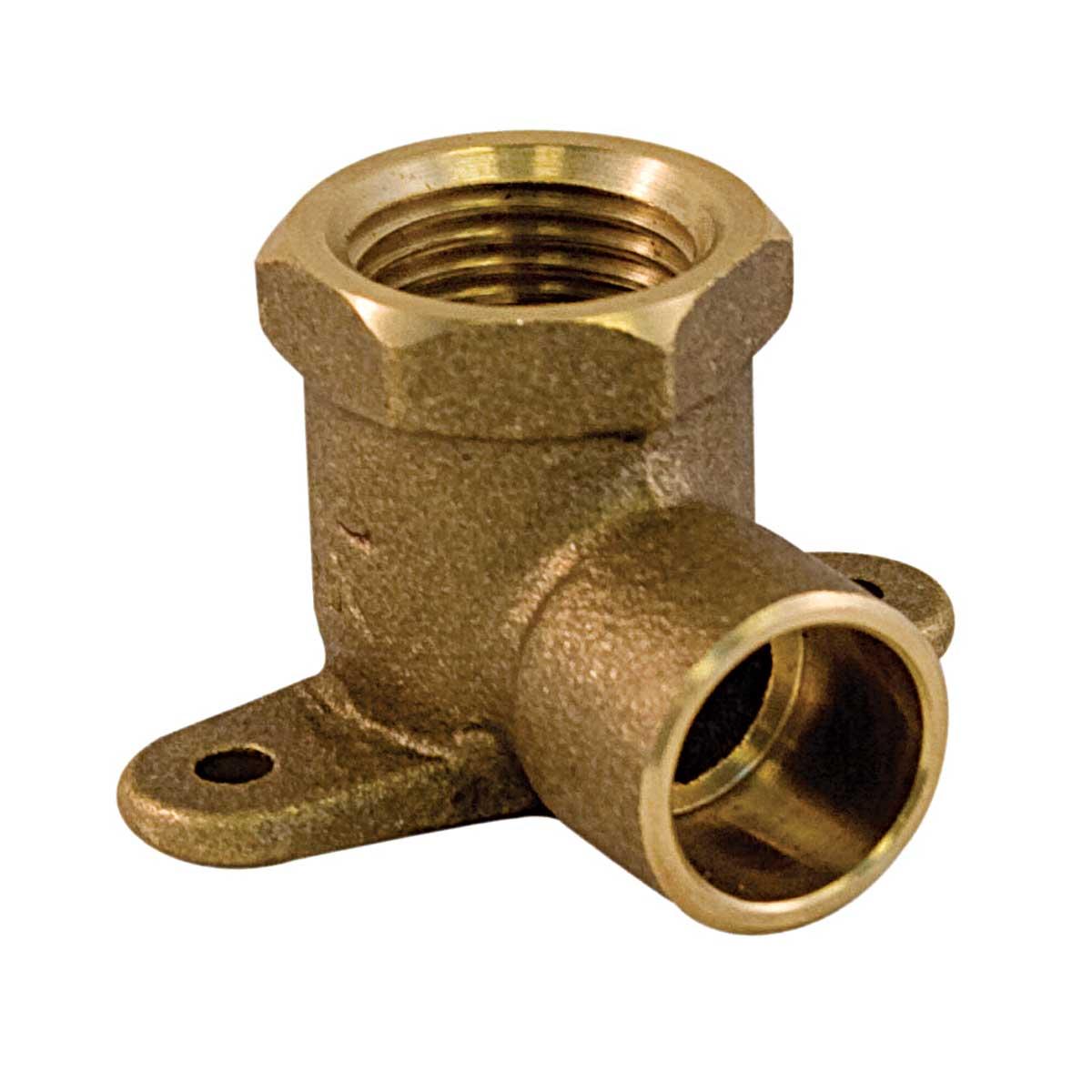 Brass Drop Ear Elbow 1/2-in - C x F