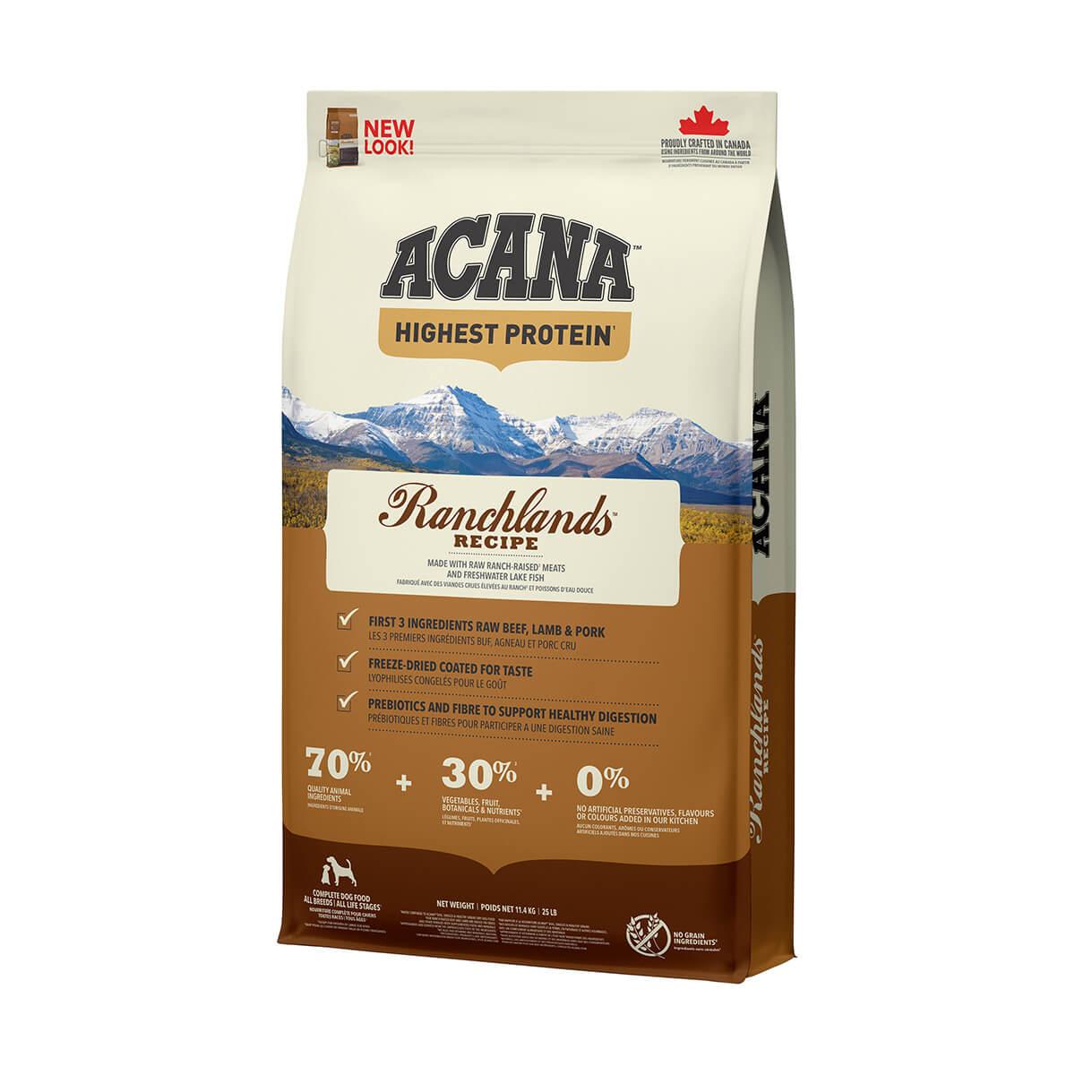 Acana Ranchlands Dog  - 11.4 kg