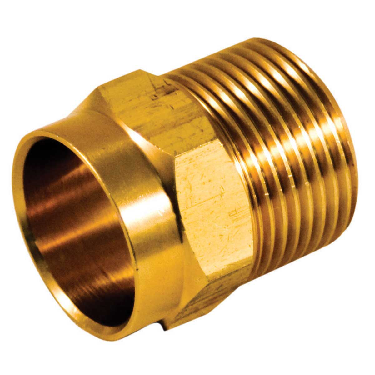 Bar Stock Male Adapter  - 3/4-in