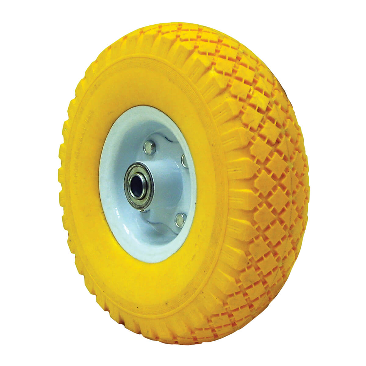 Flat Free Hand Truck Wheel 3.00 R4