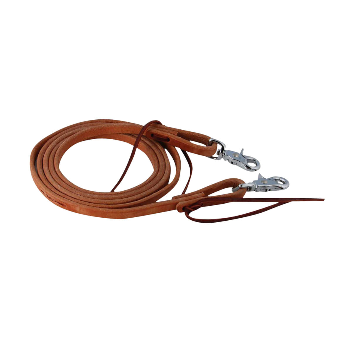 "1/2"" Roping Reins 7' to 7' 6"" - Harness Leather"