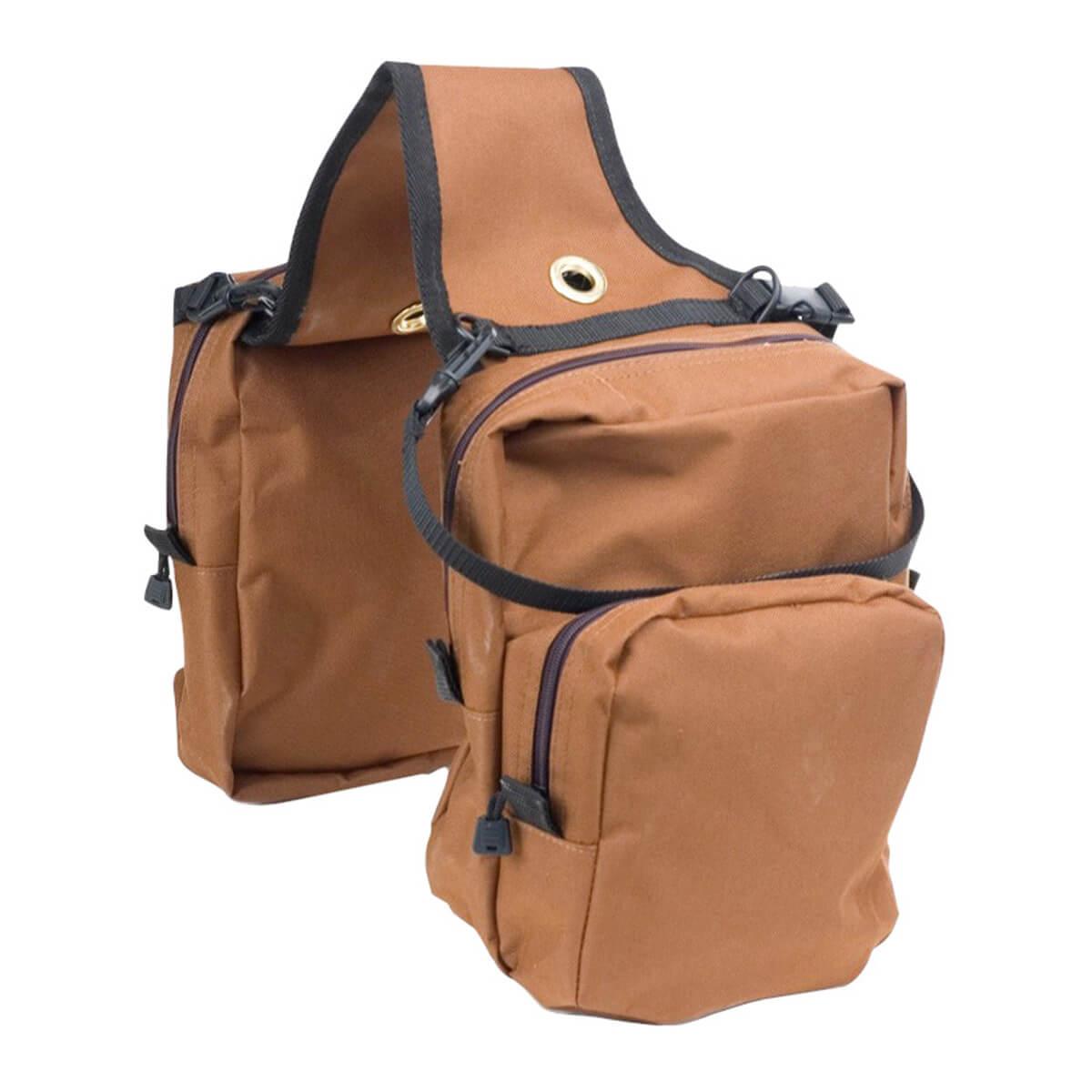 4 Pocket Saddle Bag