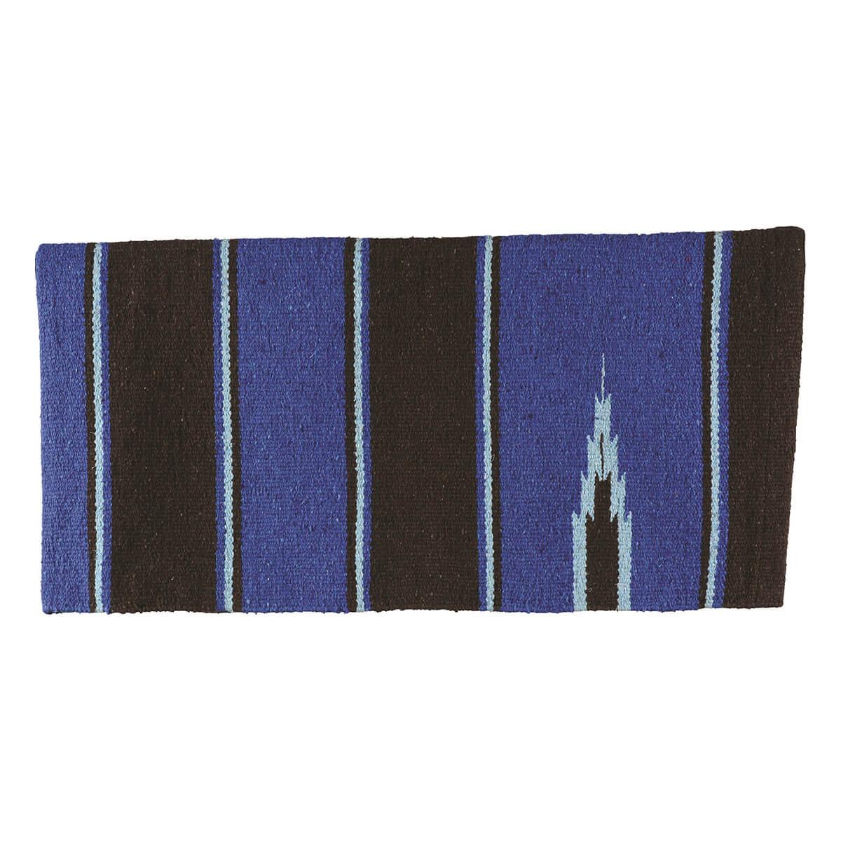 Sierra Navajo Saddle Blanket - Black/Blue