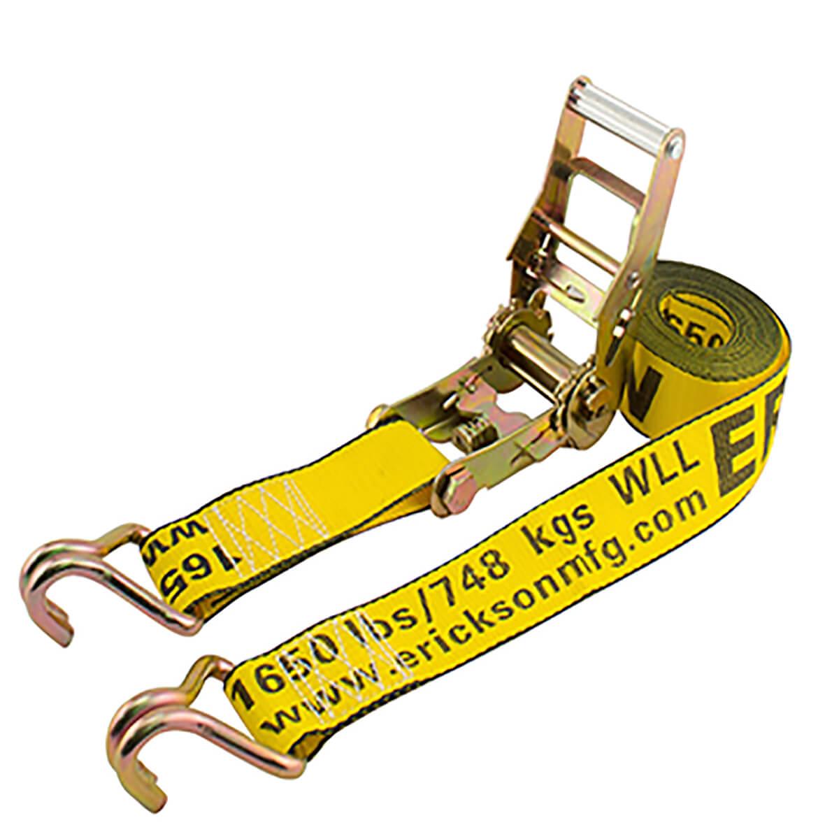 """Erickson Heavy Duty 2"""" x 25' Ratchet Strap"""