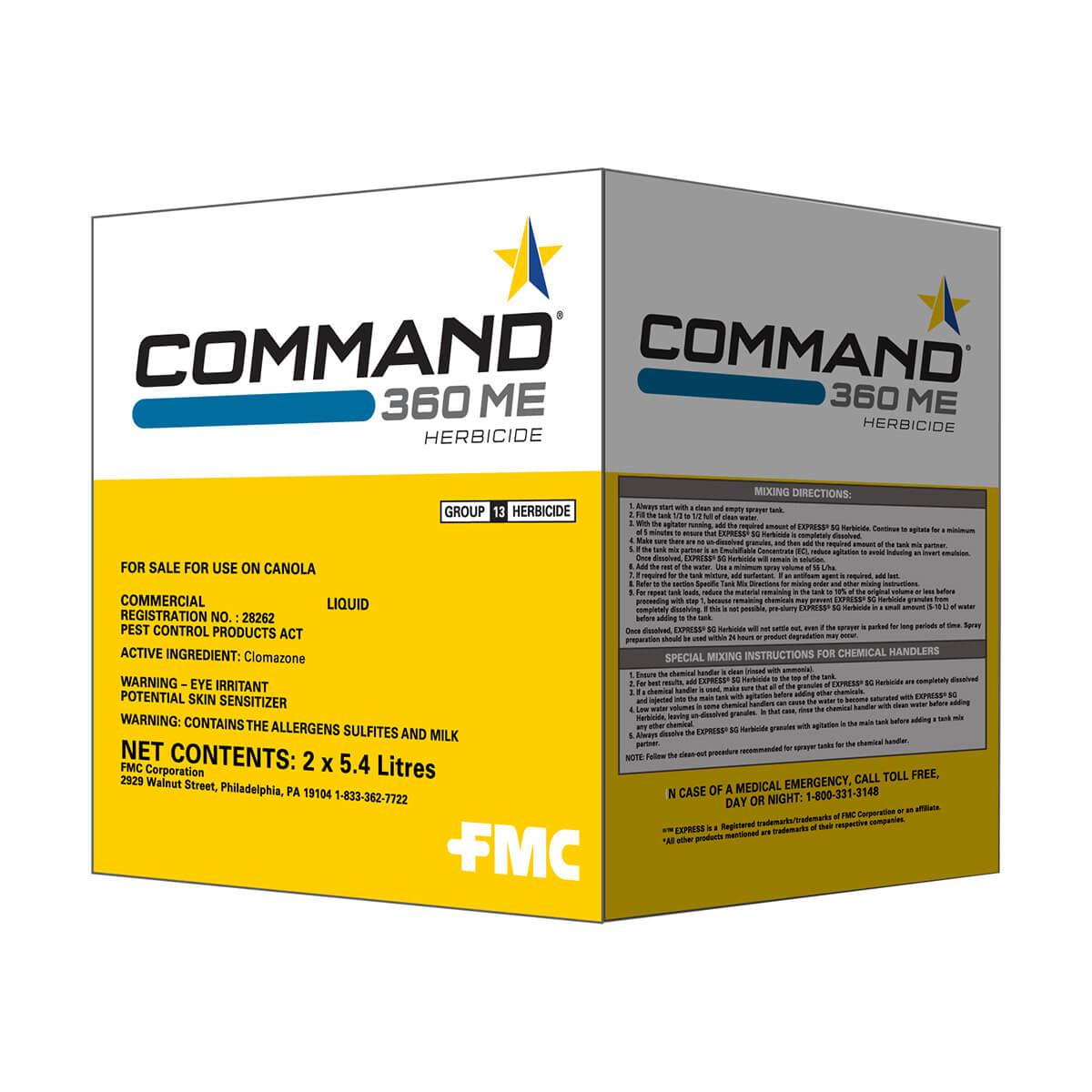 Command® 360 ME Herbicide - 5.4L Jug