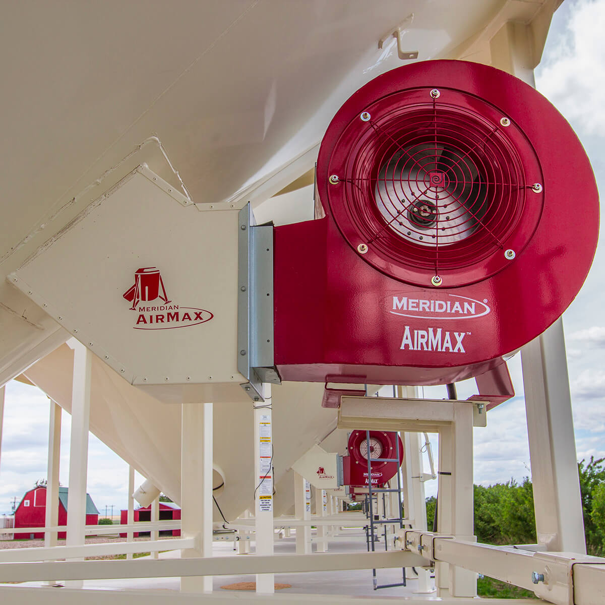 Meridian Centrifugal Fan - 5 hp 1 phase