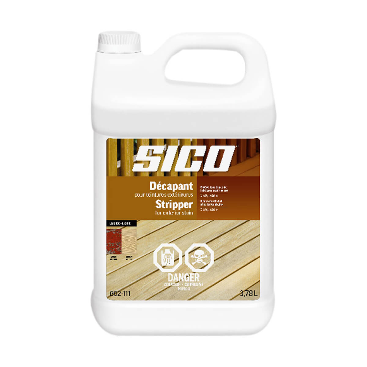 Sico Stripper for Exterior Stain - Liquid - Series 802