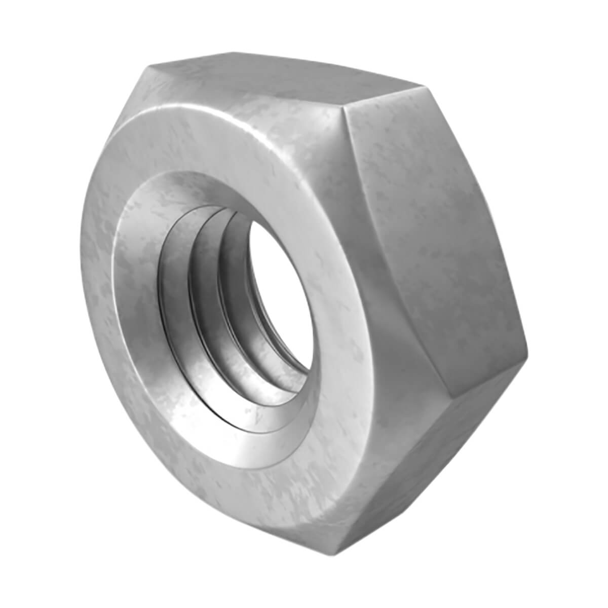 Hexagonal Nut - Stainless Steel - M10 X 1.50 Pitch - 5-Pack