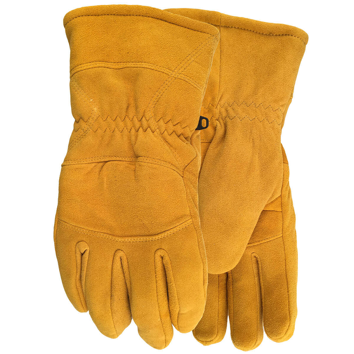 Crazy Horse Sherpa Lined Split Deerskin Gloves
