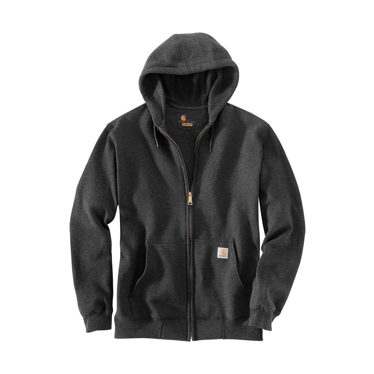 Carhartt Midweight Hooded Zip-Front Sweatshirt