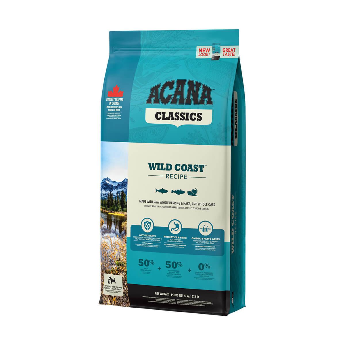 Acana Classic Wild Coast - 17 kg