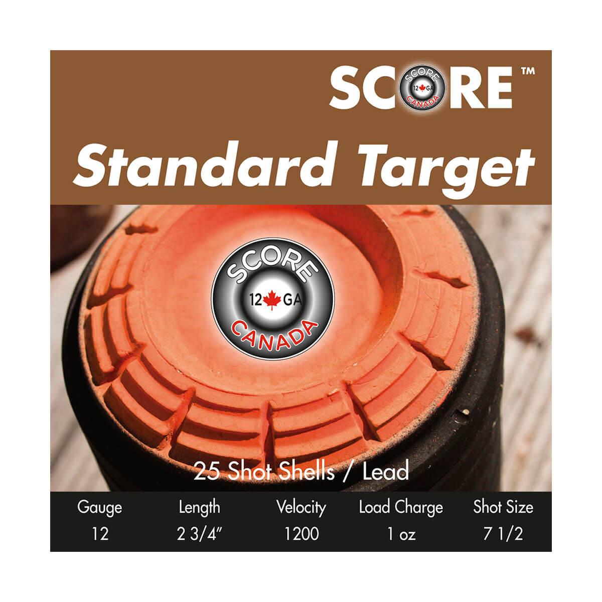 Score Standard Target Ammunition (25-Pack)