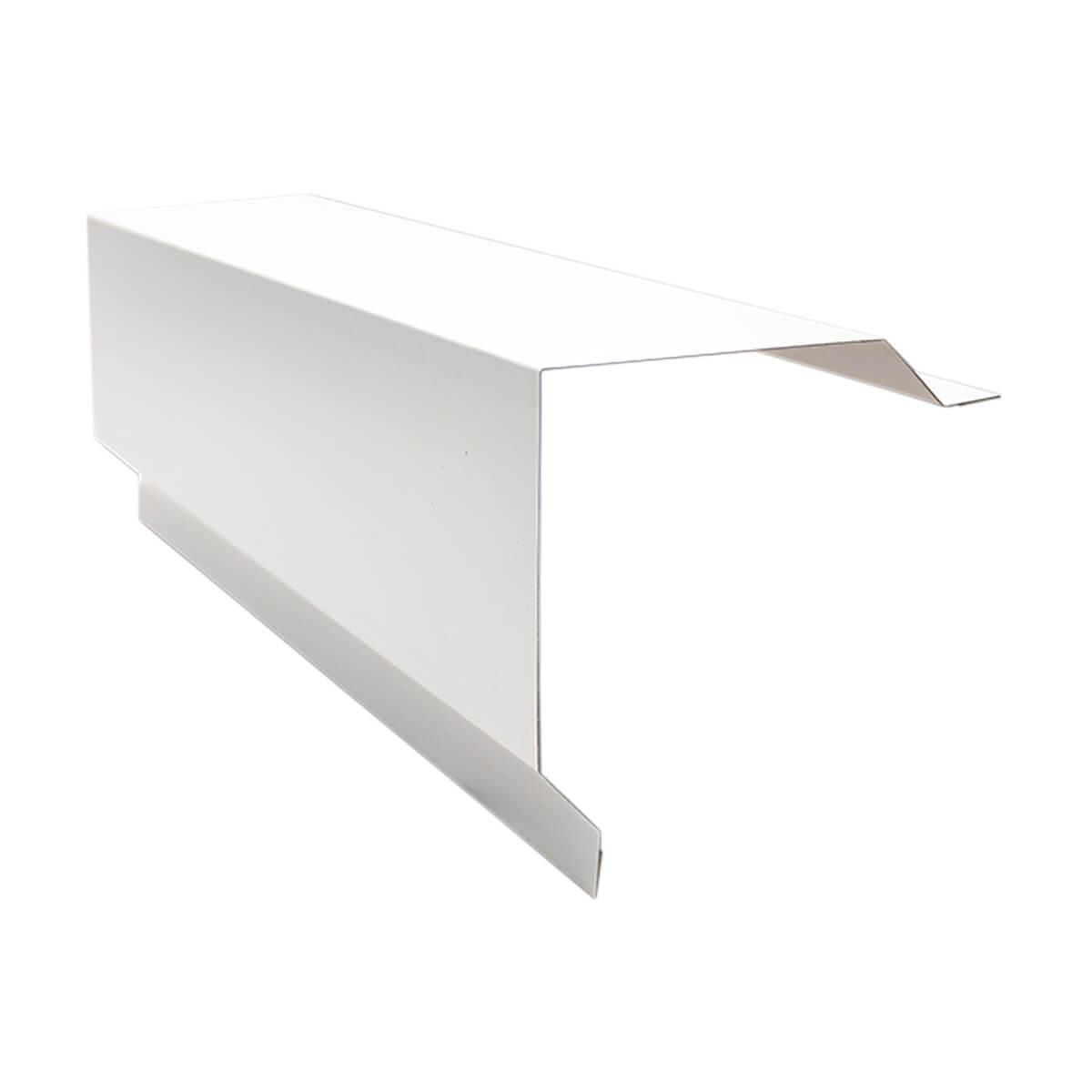 Duraclad Corner Cap - 29GA - 10' - Brite White