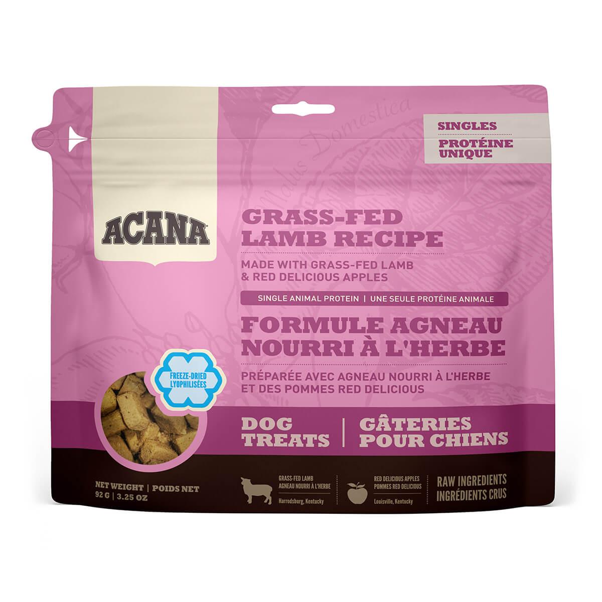 92g Acana Singles Dog Treats - Lamb