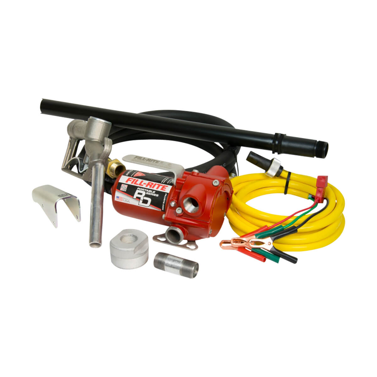 12V DC Bung Mounted Pump with Hose and Nozzle RD1212NP