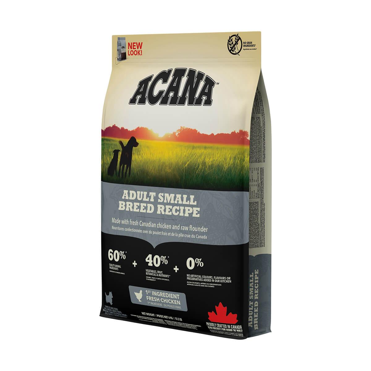Acana Adult Small Breed - Dog Food - 6 kg