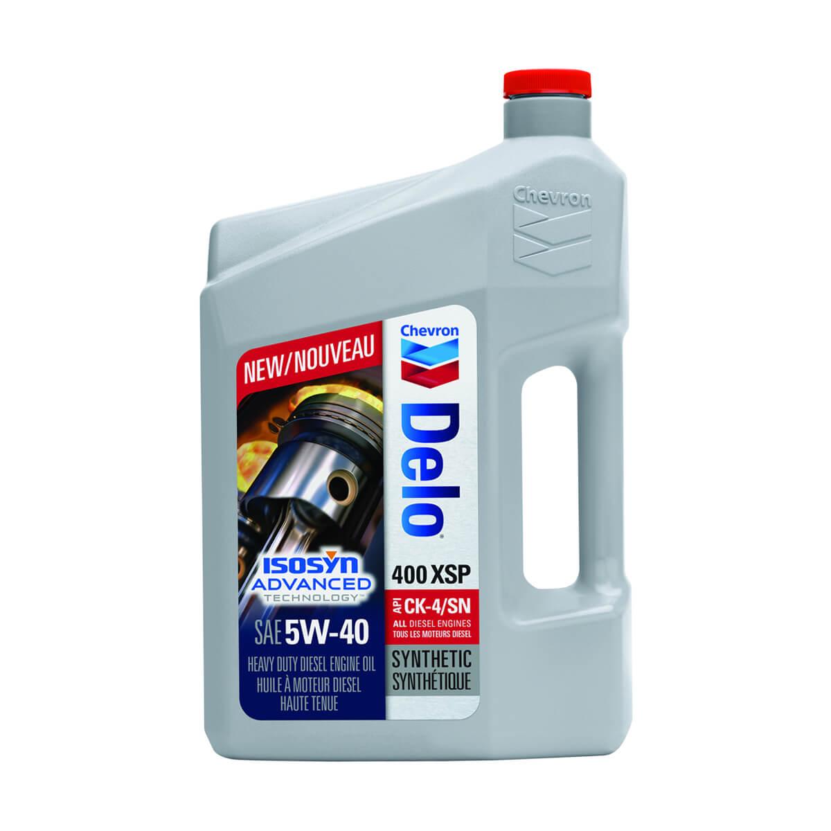 Chevron Delo 400 XSP 5W-40 - 3.78 L