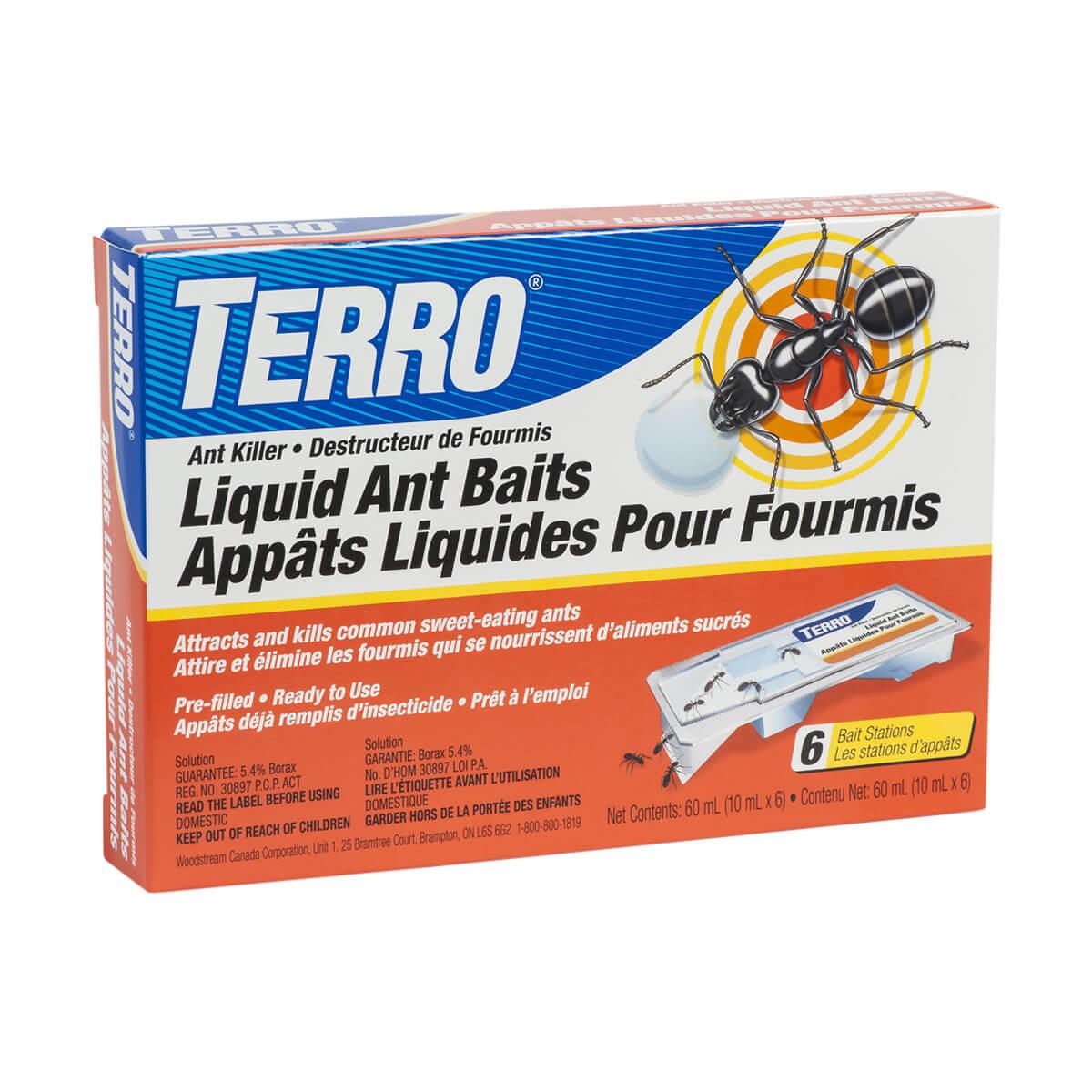 Liquid Ant Baits - 6 Pack