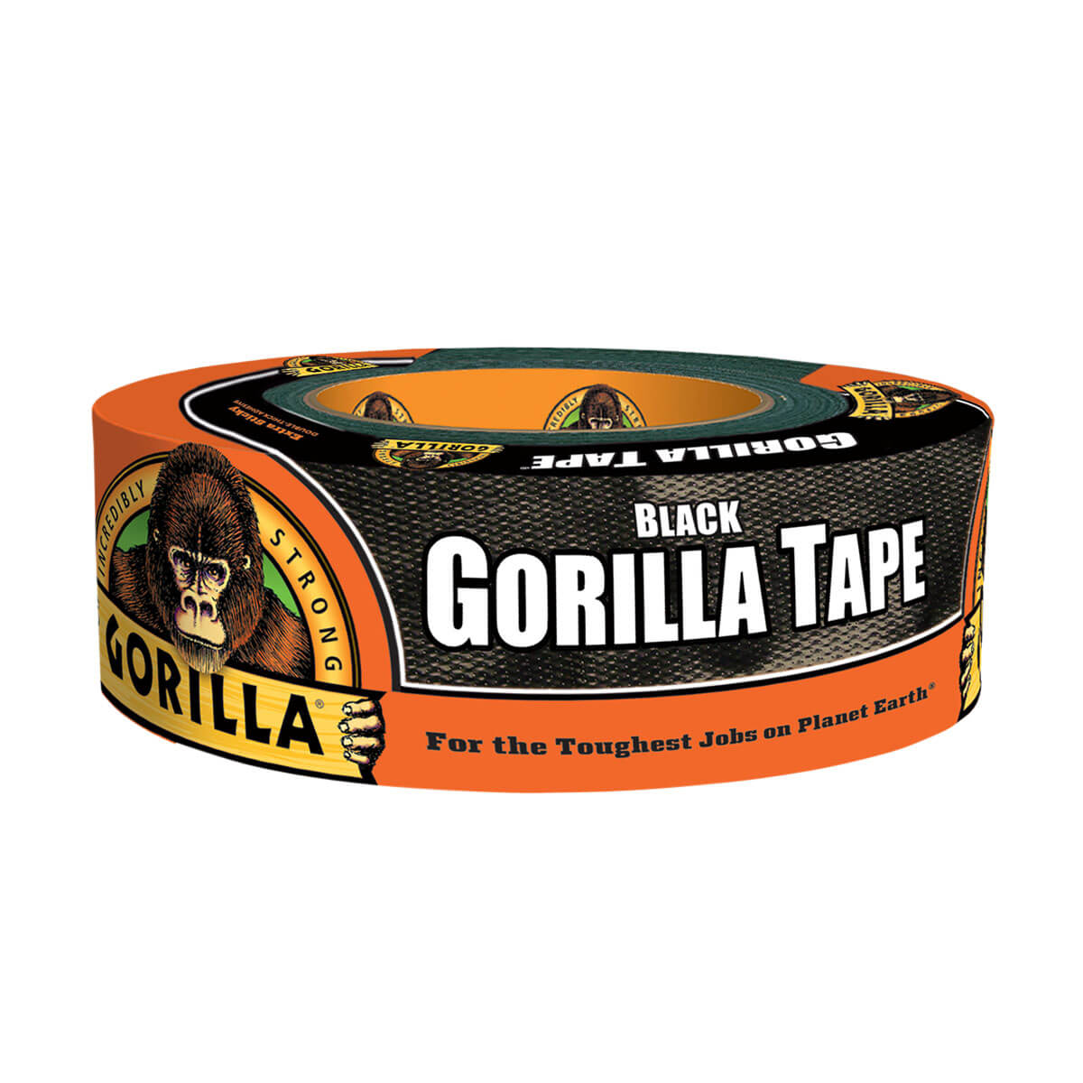Black Gorilla Duct Tape - 1.88-in x 30 yd