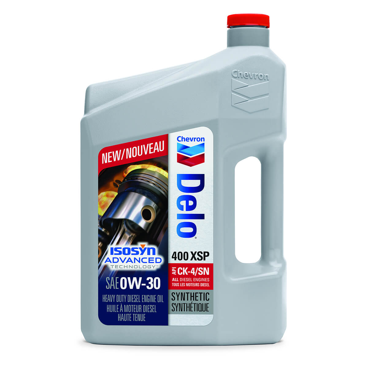 Delo® 400 SP SAE 0W-30 (Synthetic) - 3.78 L