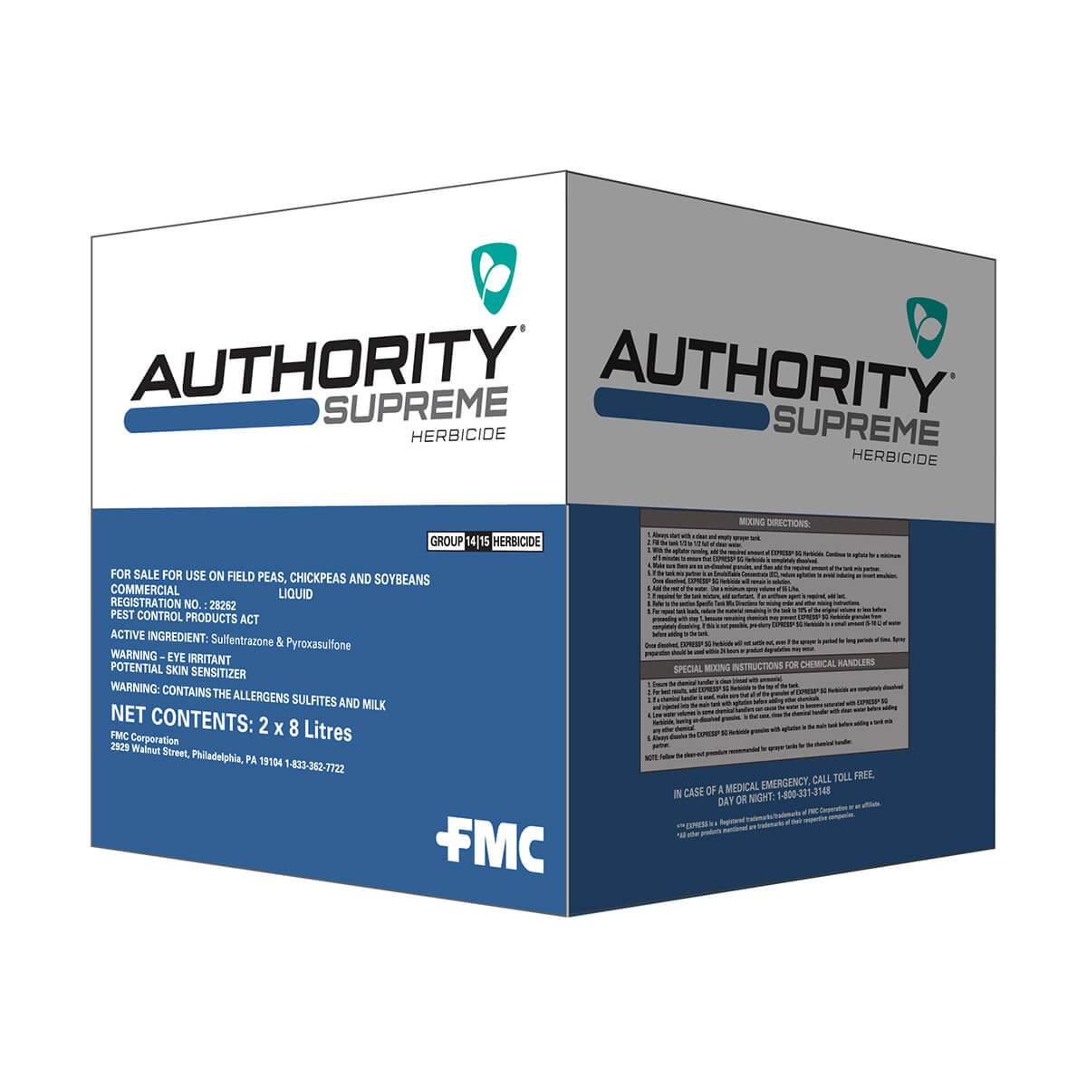 Authority® Supreme Herbicide - 8L Jug