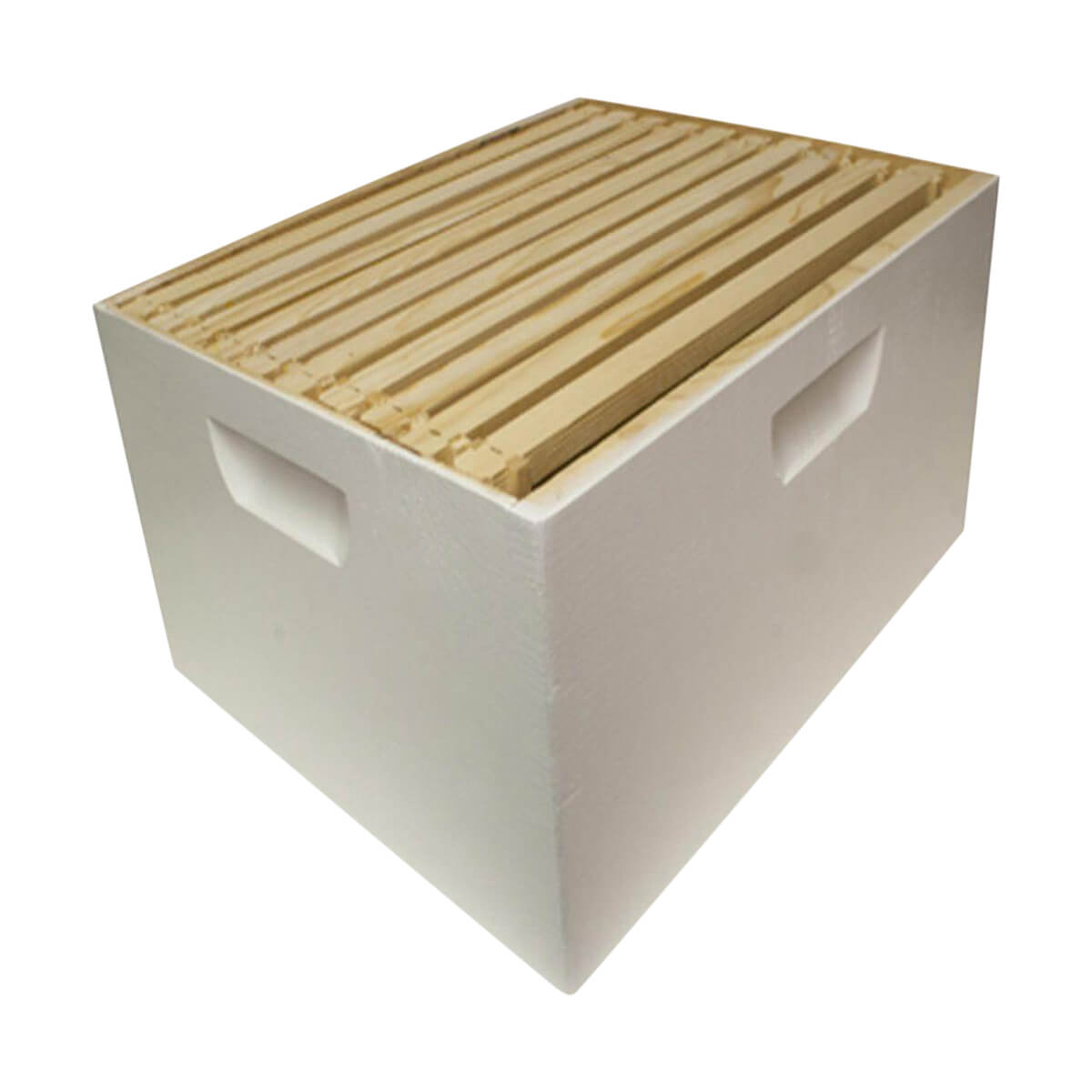 10 in. H x 16 in. W Assembled Deep Hive Box