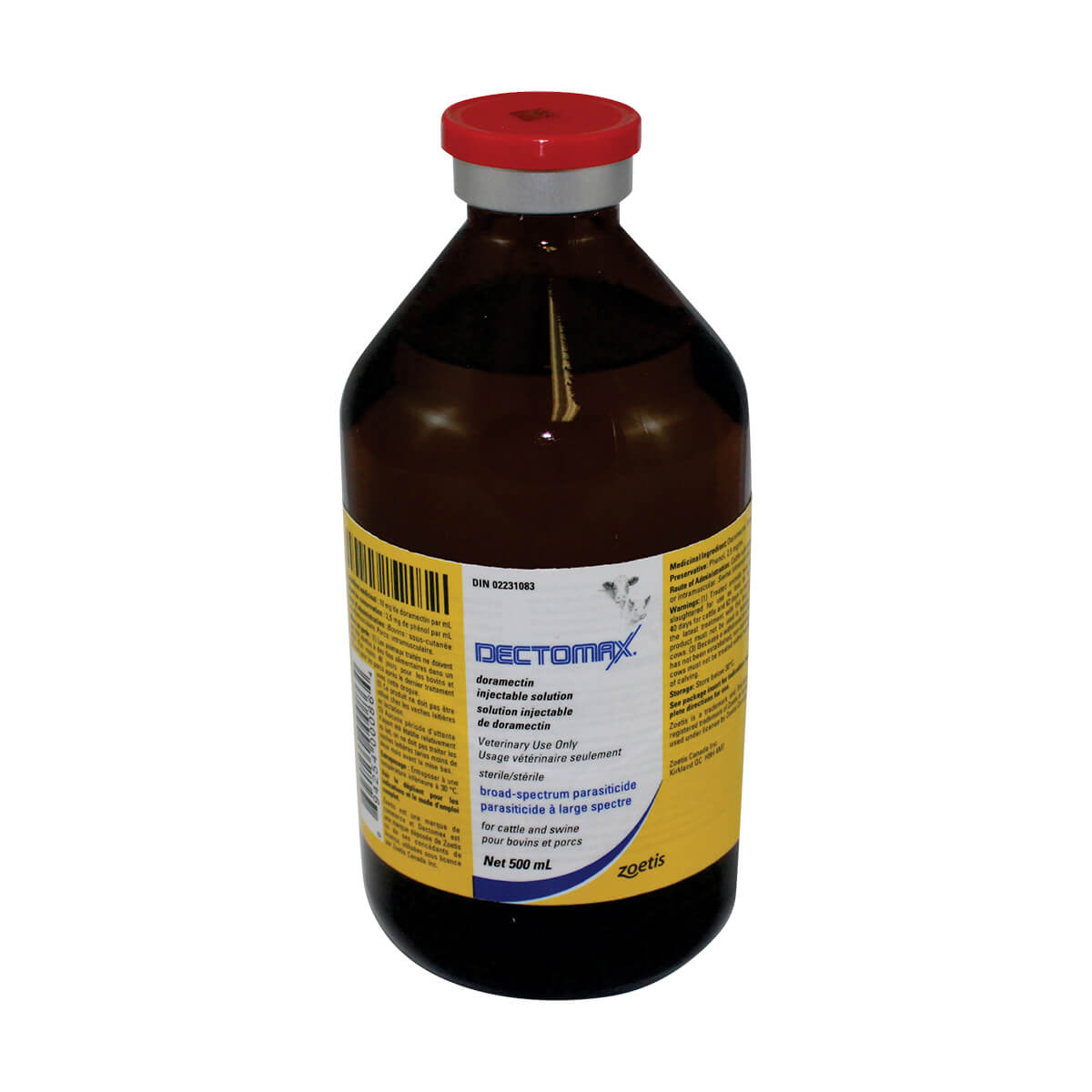 500 mL Dectomax Injectable Solution